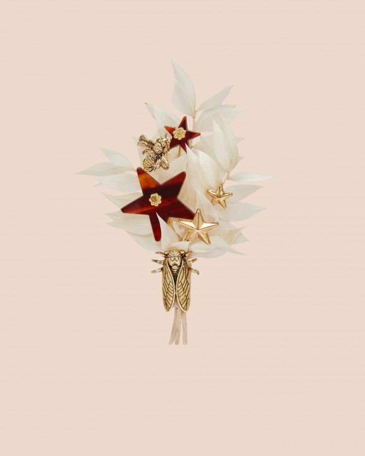 Boutonnière Tropical Star
